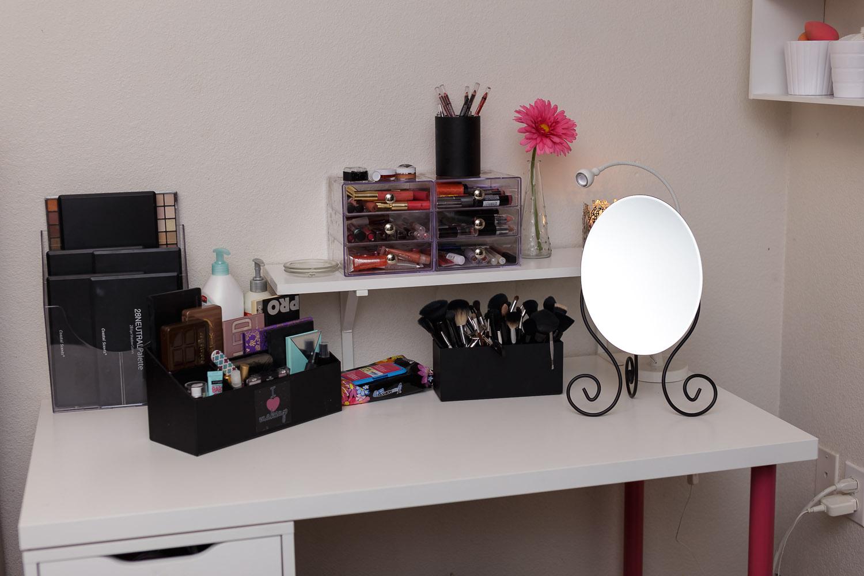 New Makeup Desk Makeup Collection